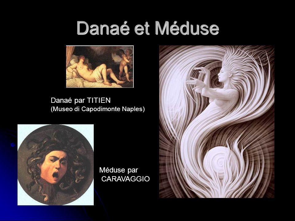 Danaé et Méduse Danaé par TITIEN (Museo di Capodimonte Naples)