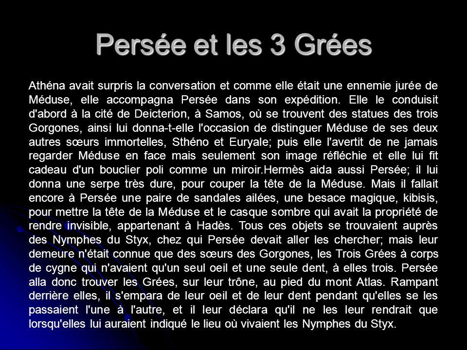 Persée et les 3 Grées