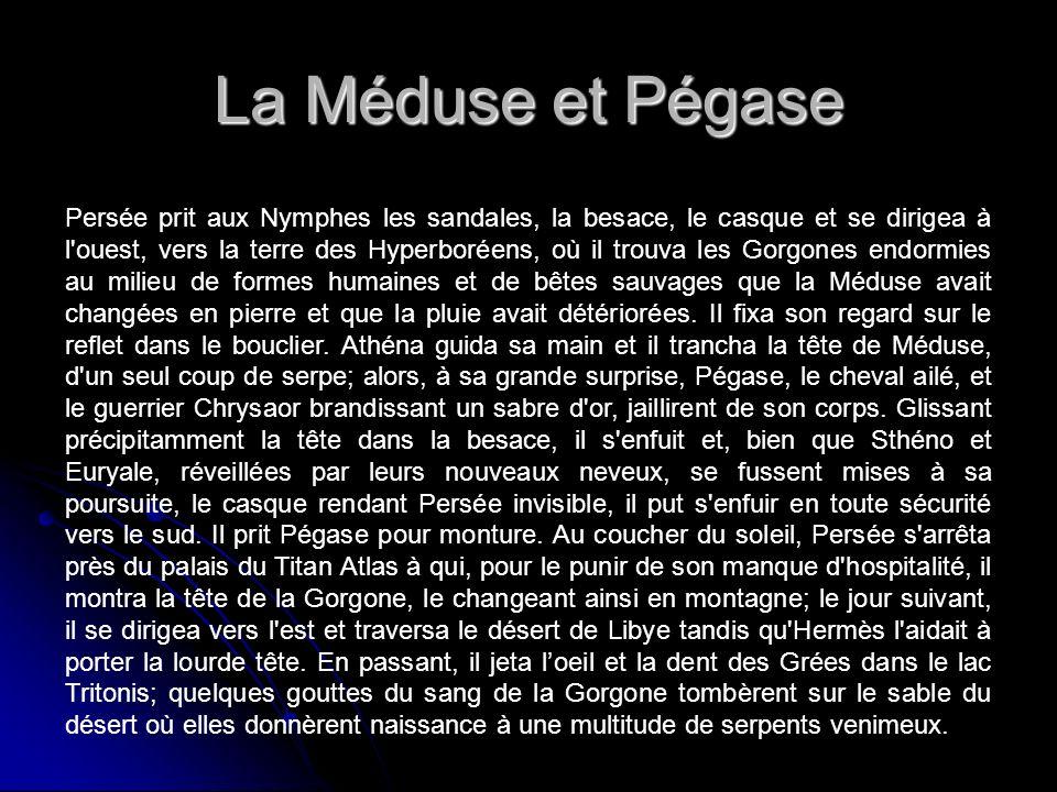 La Méduse et Pégase