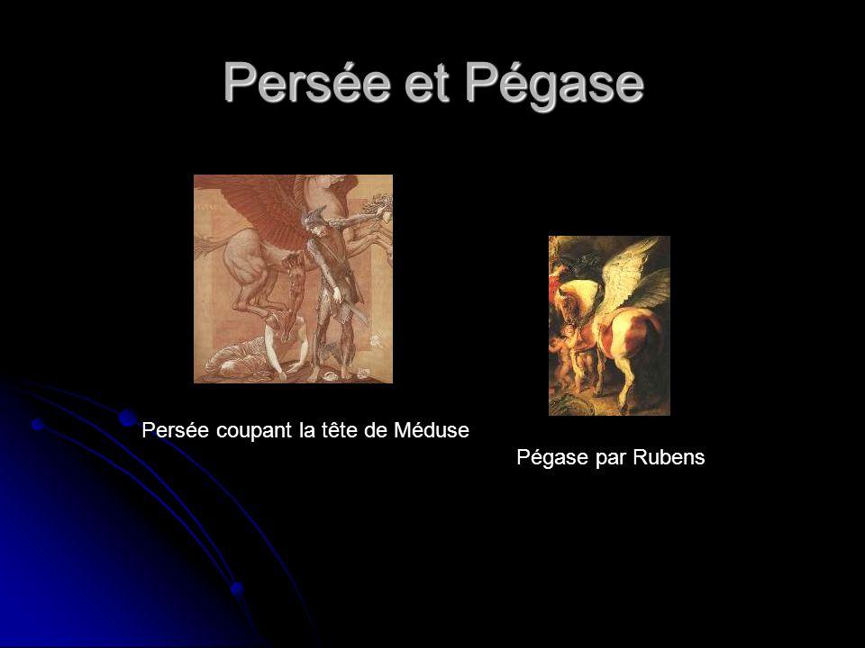 Persée et Pégase Persée coupant la tête de Méduse Pégase par Rubens