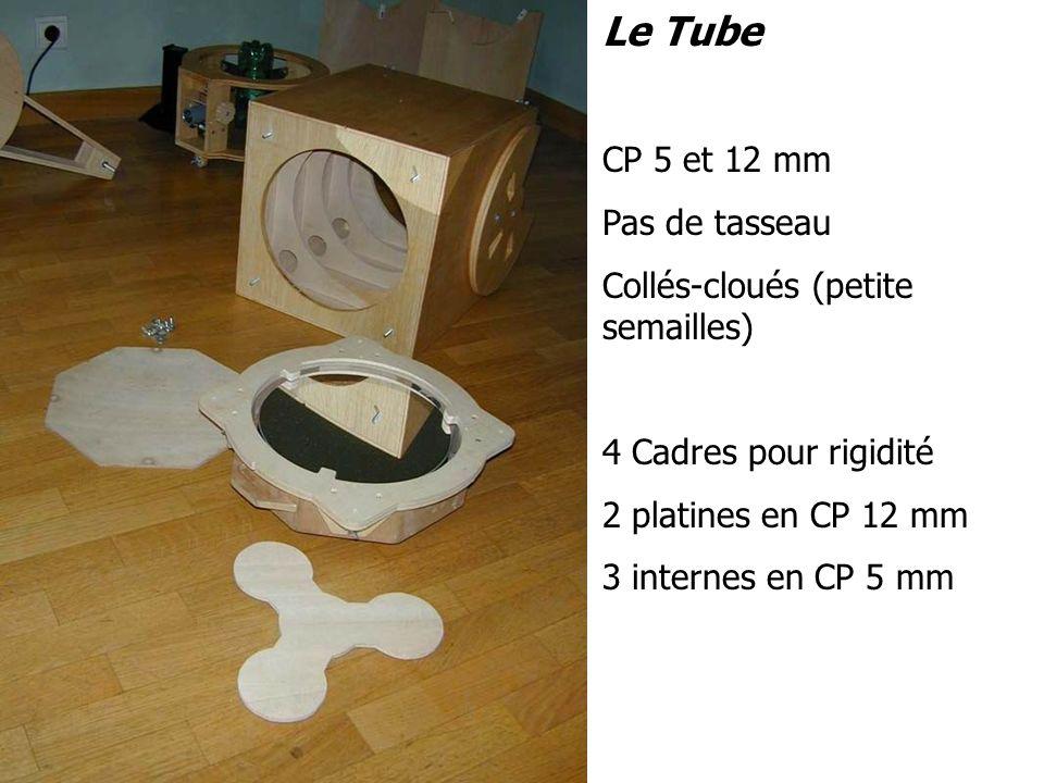 Le Tube CP 5 et 12 mm Pas de tasseau Collés-cloués (petite semailles)