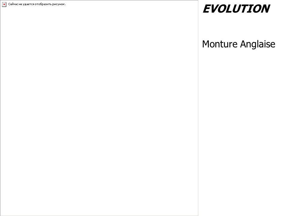 EVOLUTION Monture Anglaise