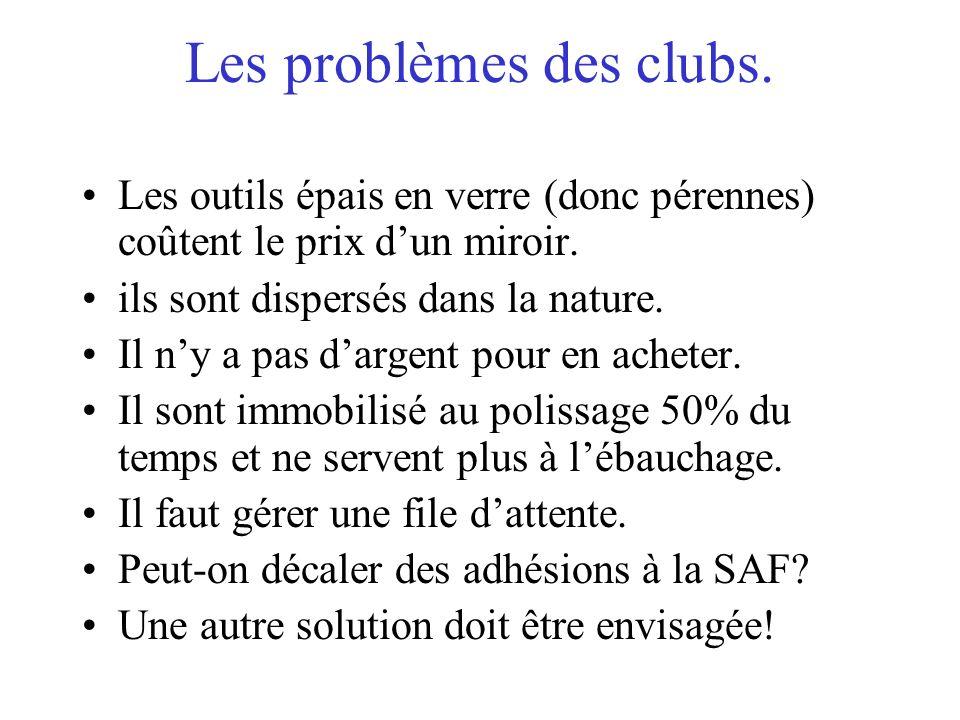 Les problèmes des clubs.