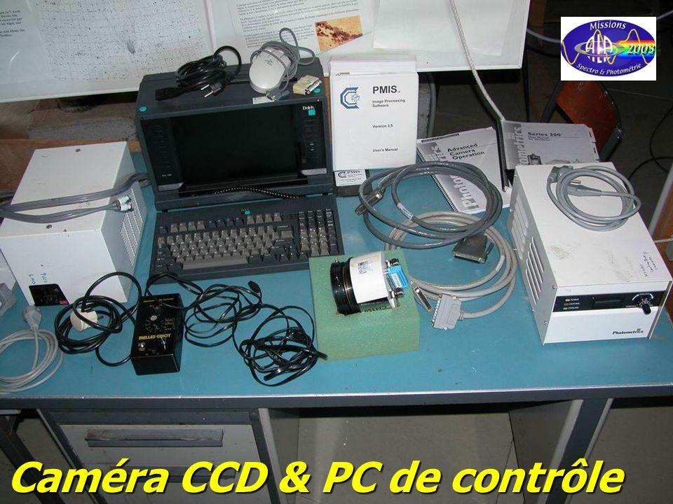 Caméra CCD & PC de contrôle