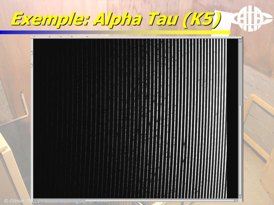 Exemple: Alpha Tau (K5)
