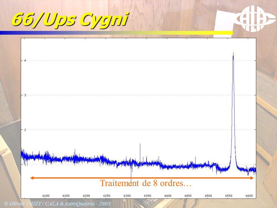 66/Ups Cygni Traitement de 8 ordres…