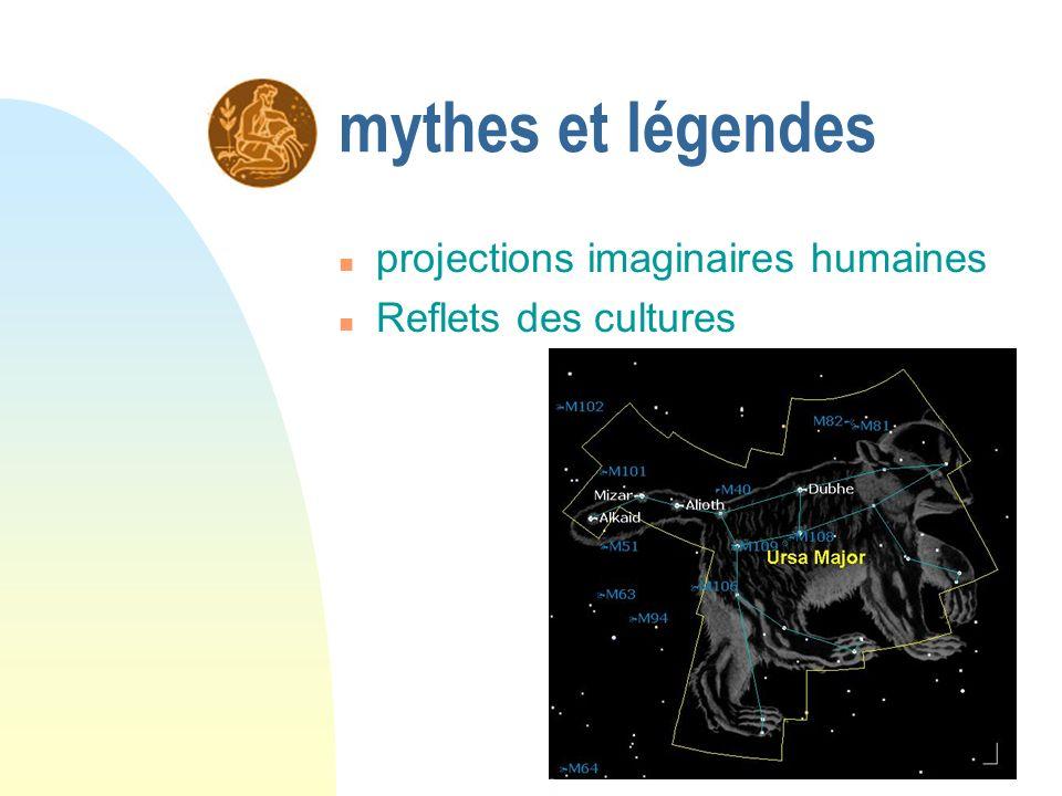 mythes et légendes projections imaginaires humaines
