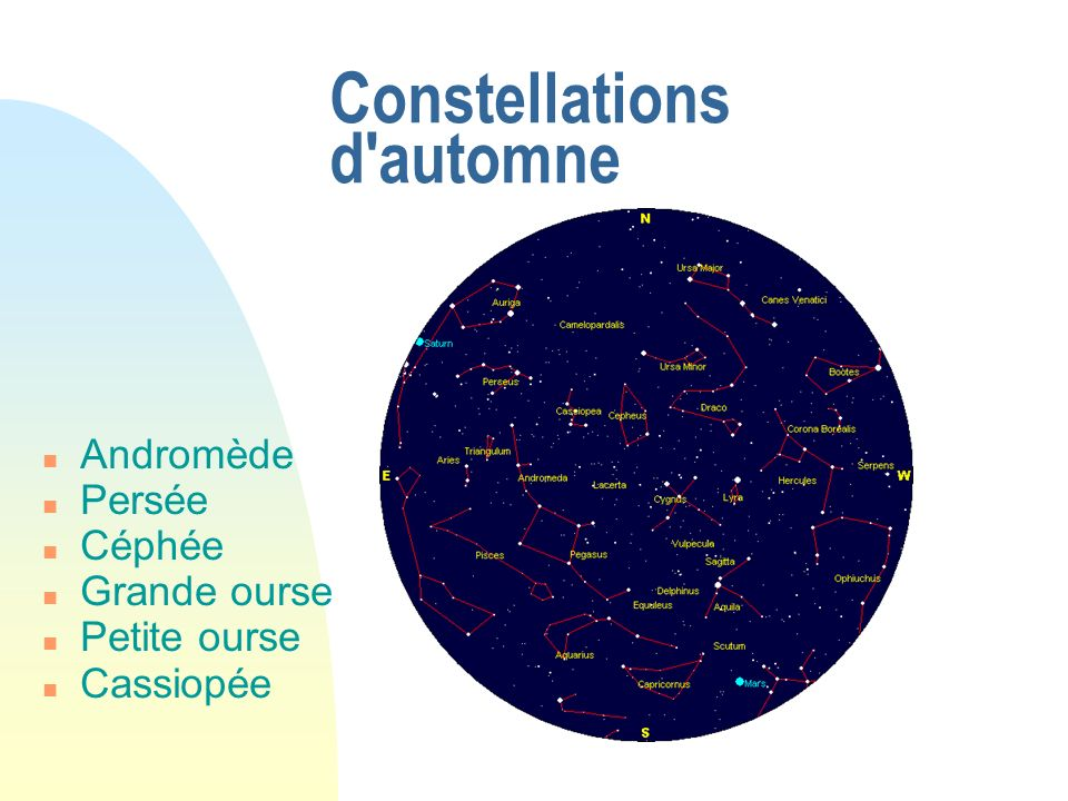 Constellations d automne