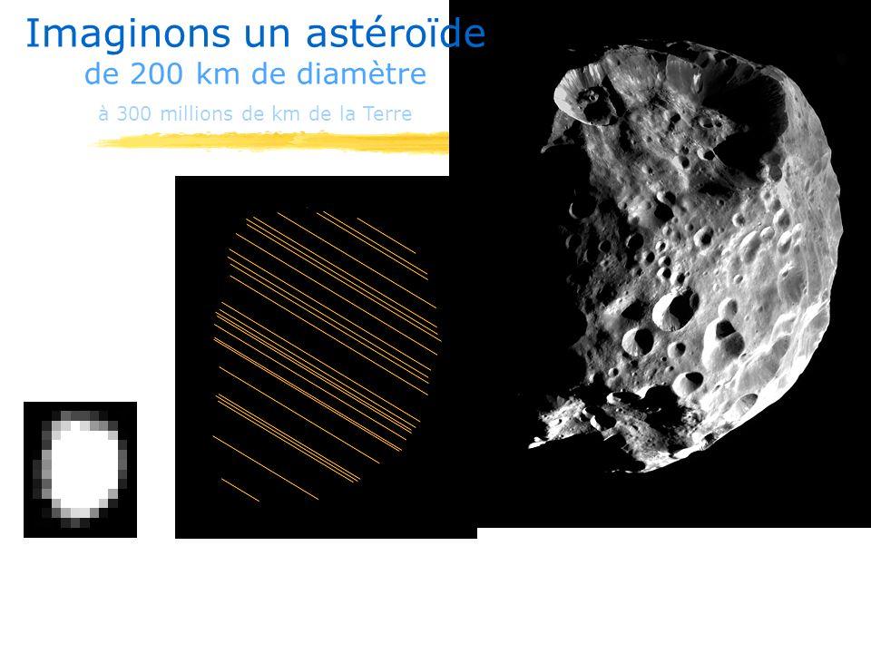 Imaginons un astéroïde de 200 km de diamètre