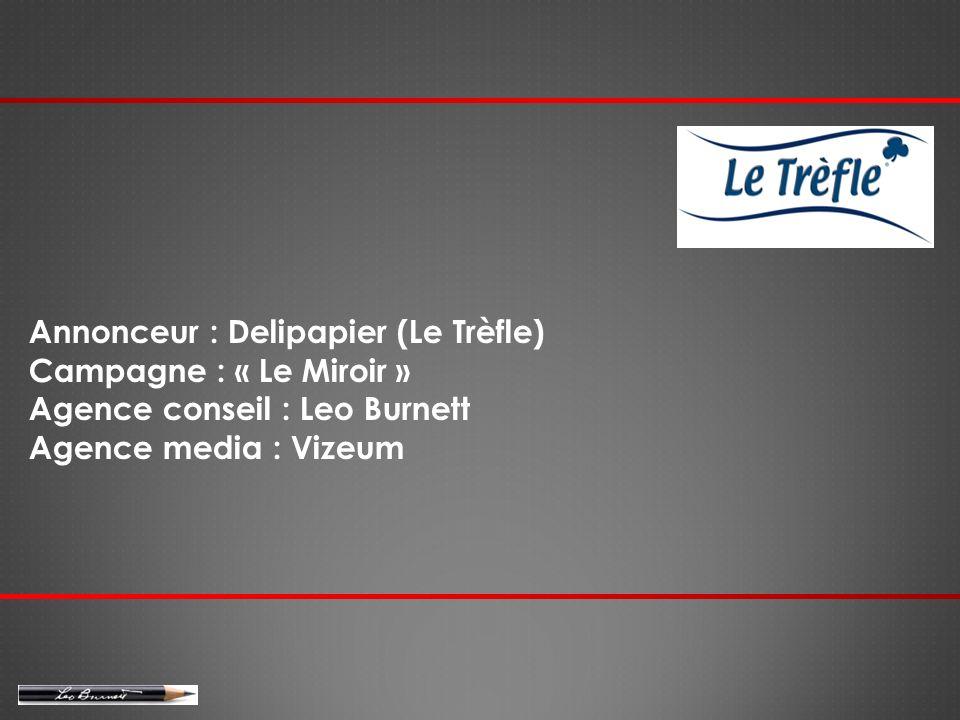 Annonceur : Delipapier (Le Trèfle)