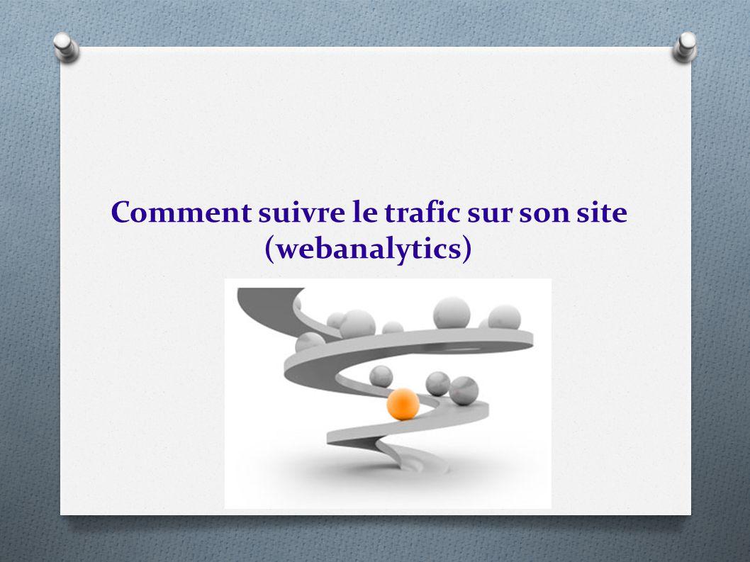 Comment suivre le trafic sur son site (webanalytics)