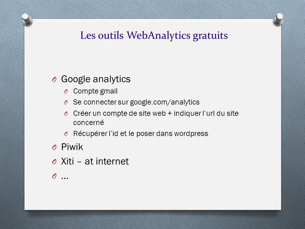 Les outils WebAnalytics gratuits