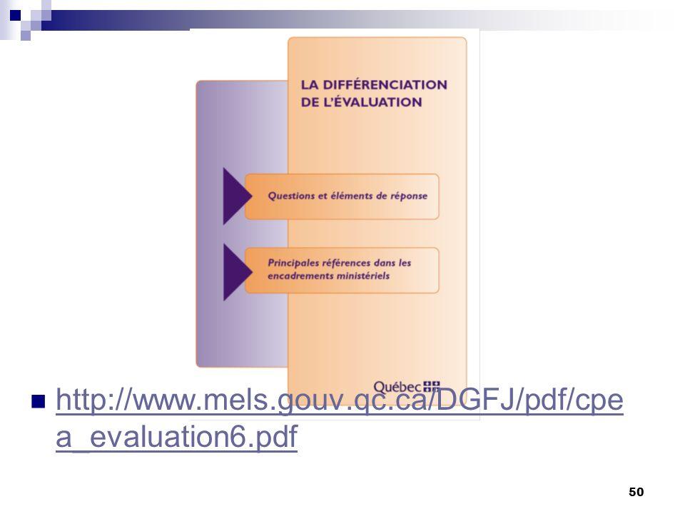 http://www.mels.gouv.qc.ca/DGFJ/pdf/cpea_evaluation6.pdf