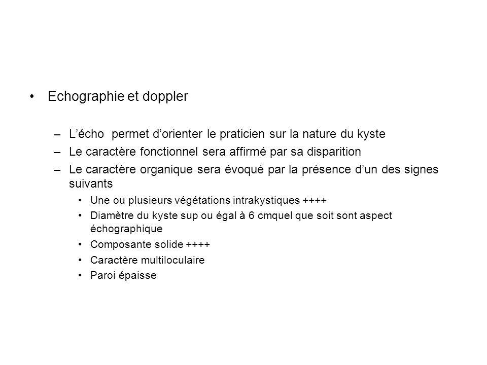 Echographie et doppler