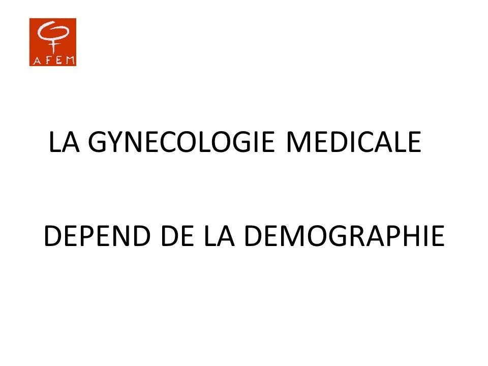 DEPEND DE LA DEMOGRAPHIE