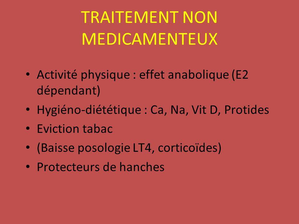 TRAITEMENT NON MEDICAMENTEUX