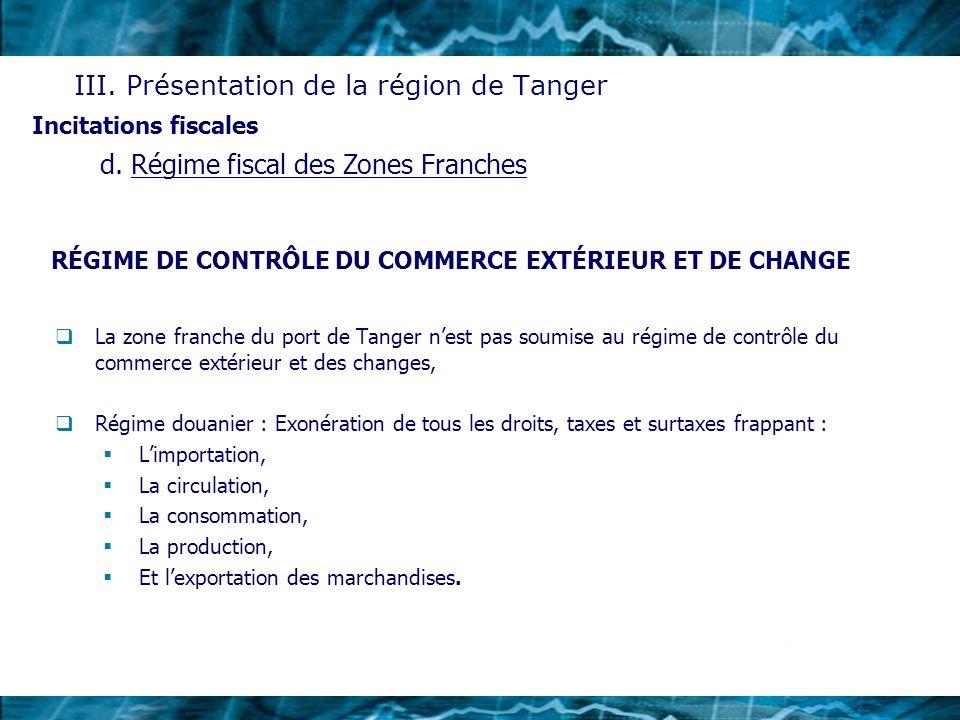 RÉGIME DE CONTRÔLE DU COMMERCE EXTÉRIEUR ET DE CHANGE