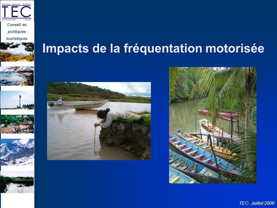 Impacts de la fréquentation motorisée