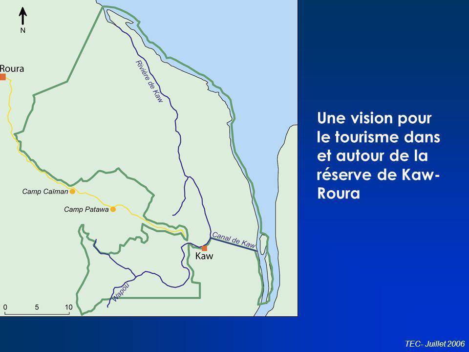 Une vision pour le tourisme dans et autour de la réserve de Kaw-Roura