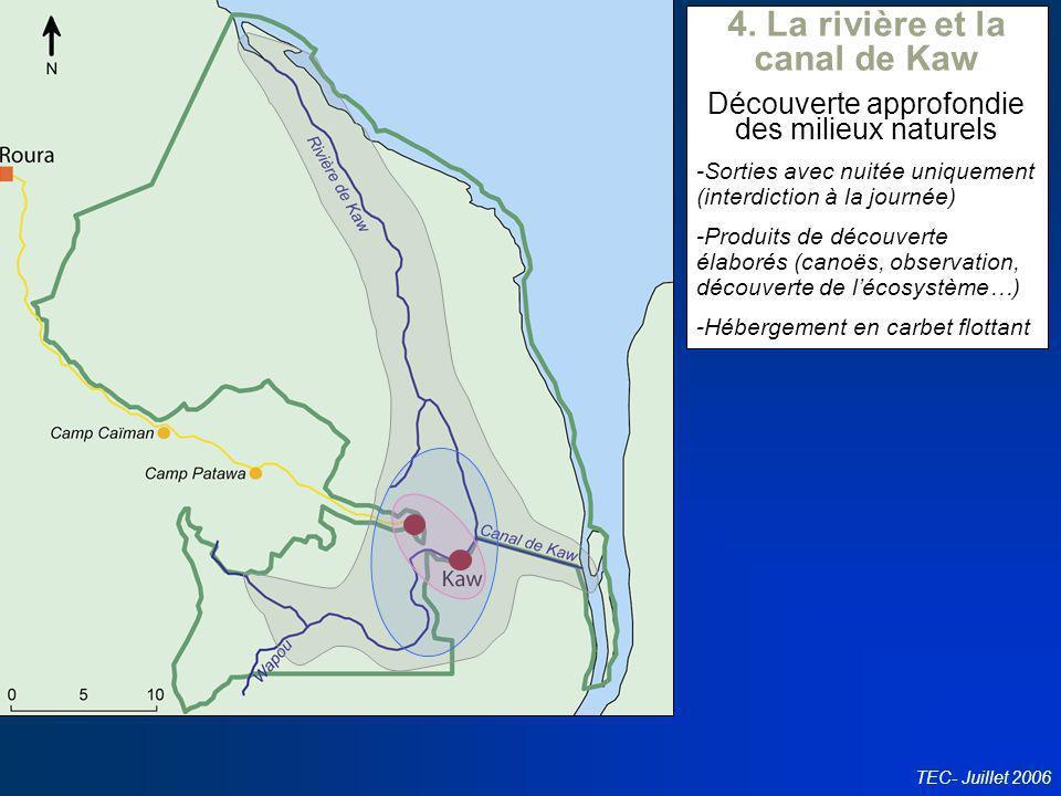 4. La rivière et la canal de Kaw