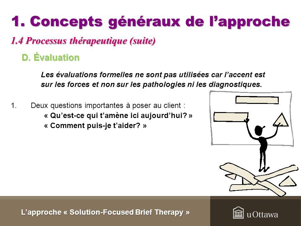 1. Concepts généraux de l'approche