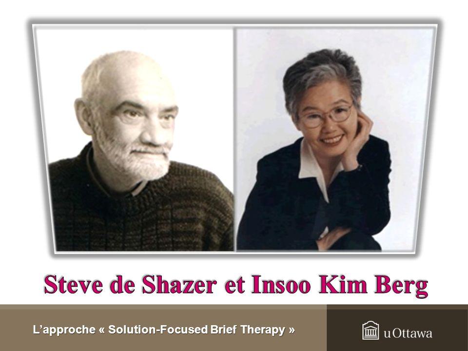 Steve de Shazer et Insoo Kim Berg