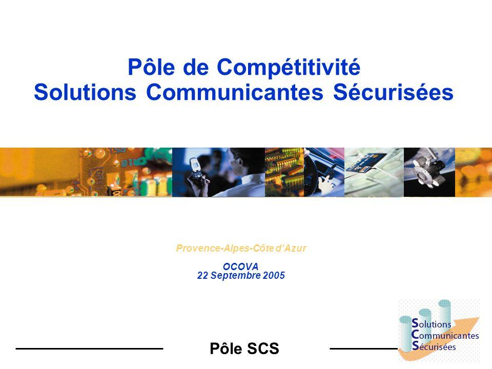 Pôle de Compétitivité Solutions Communicantes Sécurisées
