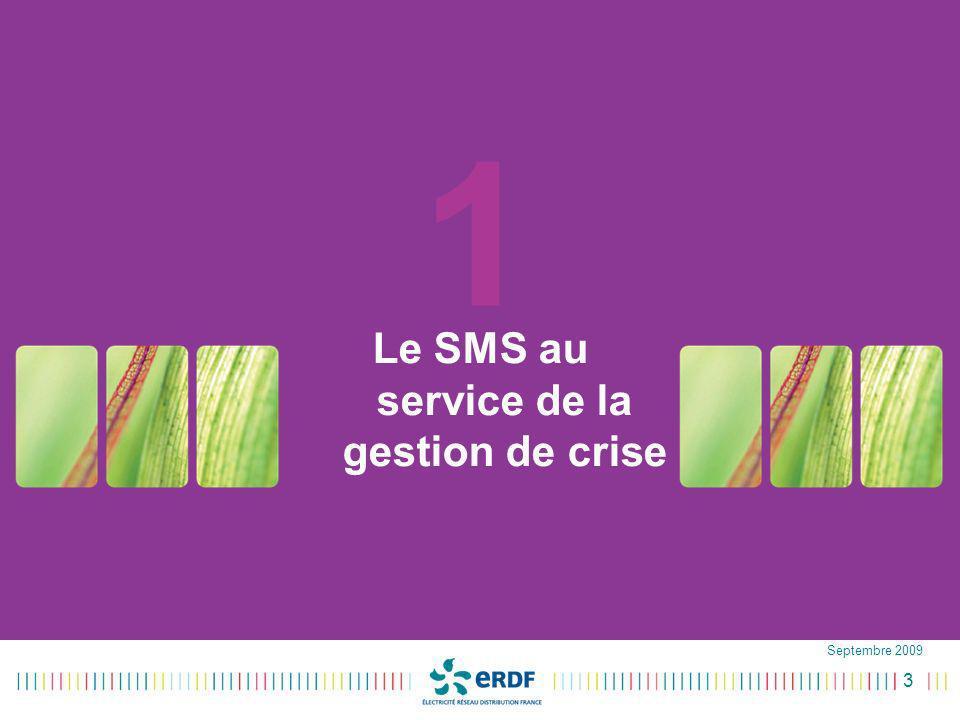 Le SMS au service de la gestion de crise
