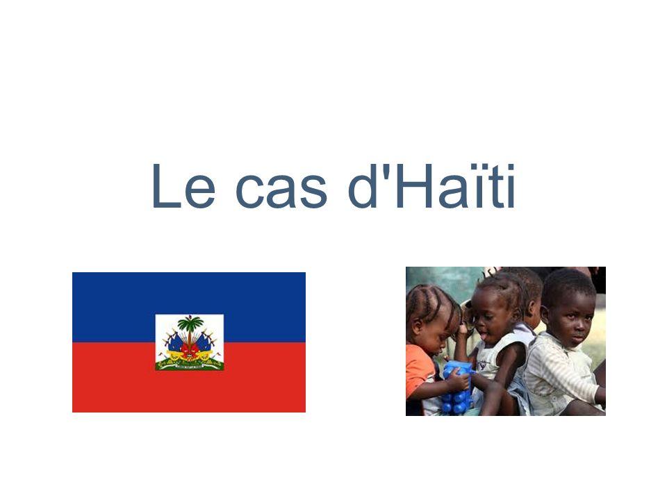 Le cas d Haïti