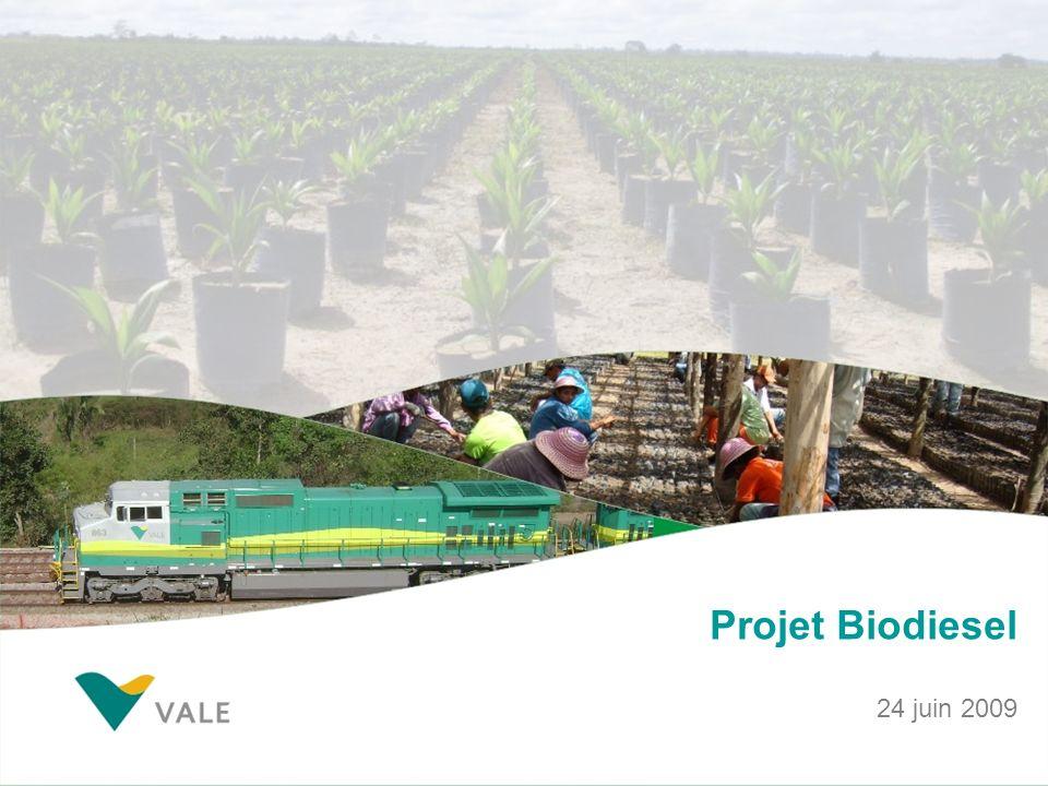 Projet Biodiesel 24 juin 2009