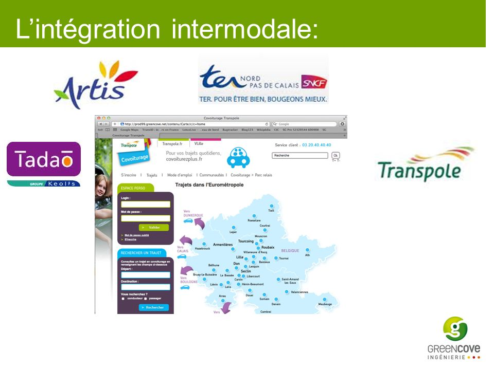 L'intégration intermodale: