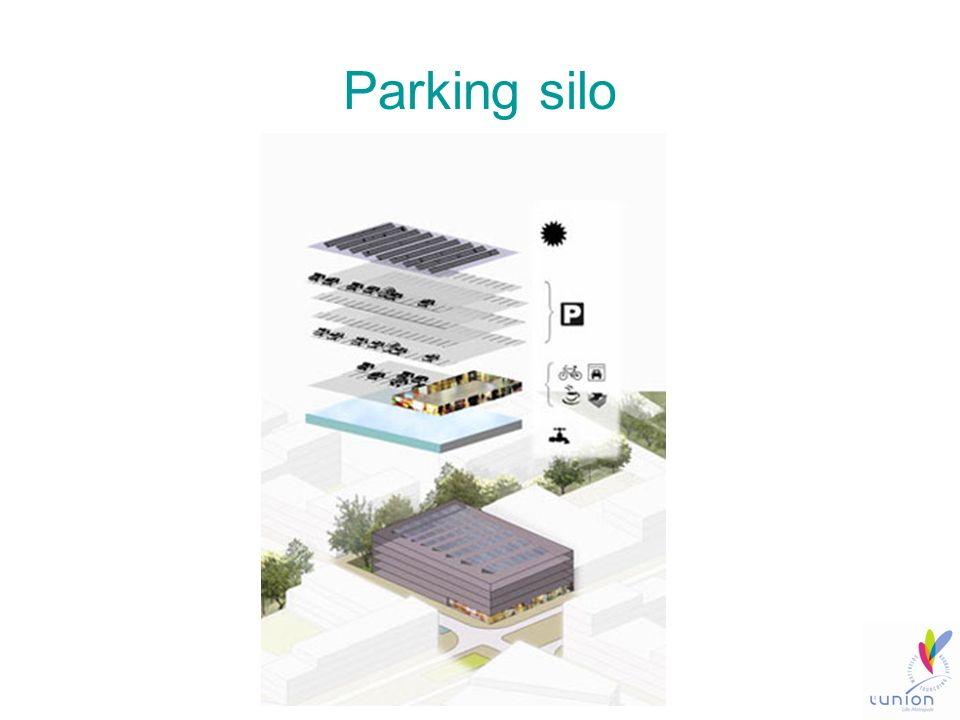 Parking silo