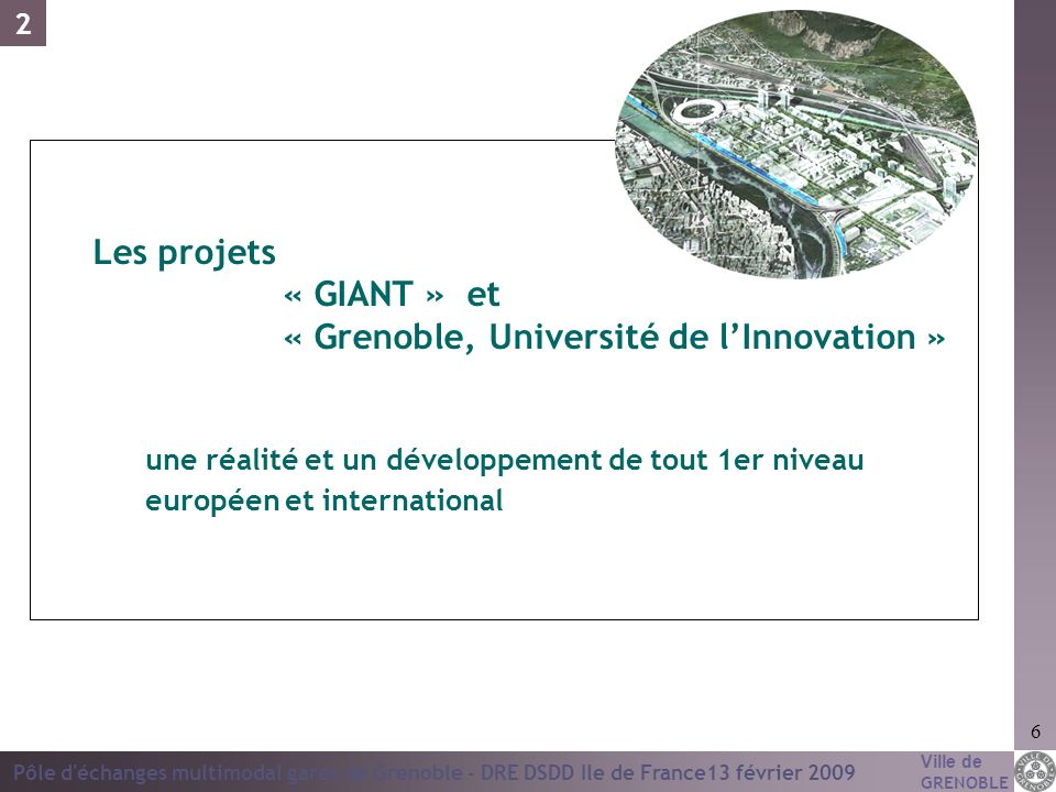 « Grenoble, Université de l'Innovation »
