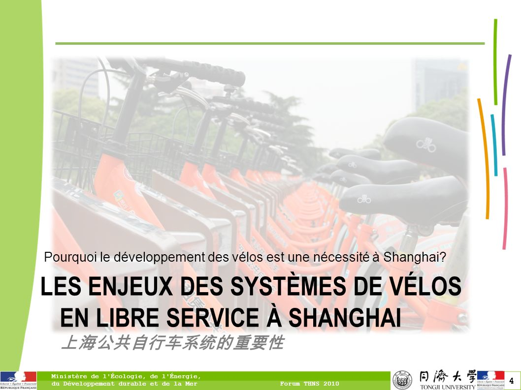 Pourquoi le développement des vélos est une nécessité à Shanghai