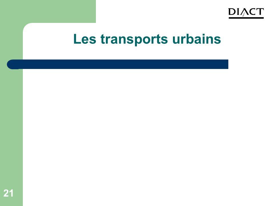Les transports urbains