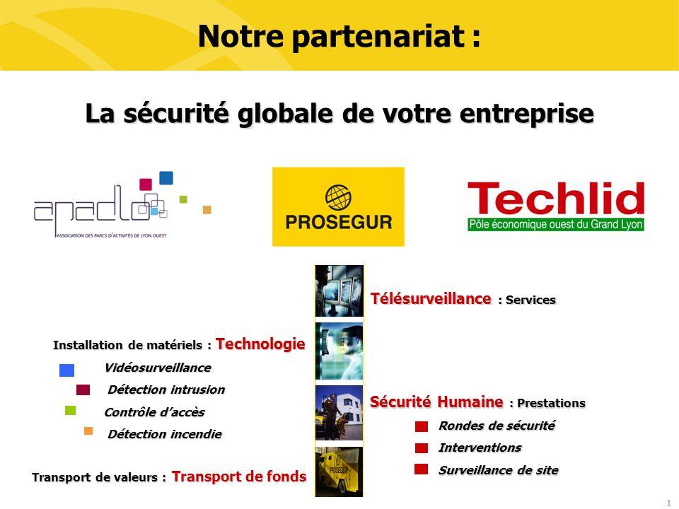 La sécurité globale de votre entreprise