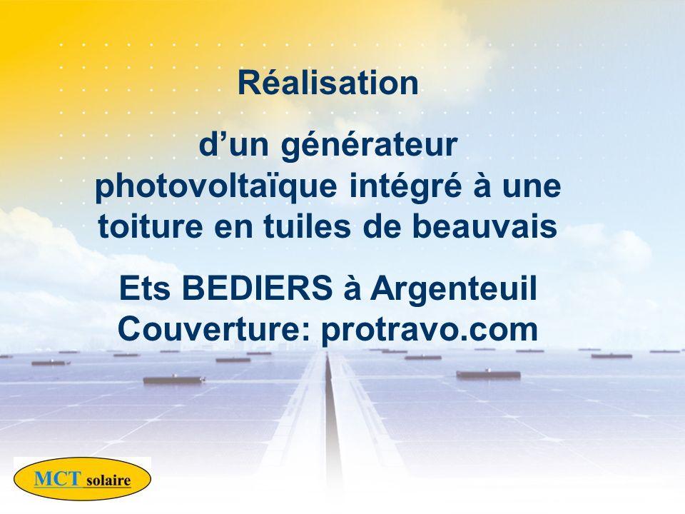 Ets BEDIERS à Argenteuil Couverture: protravo.com