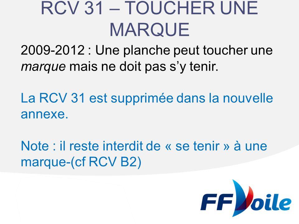 RCV 31 – TOUCHER UNE MARQUE