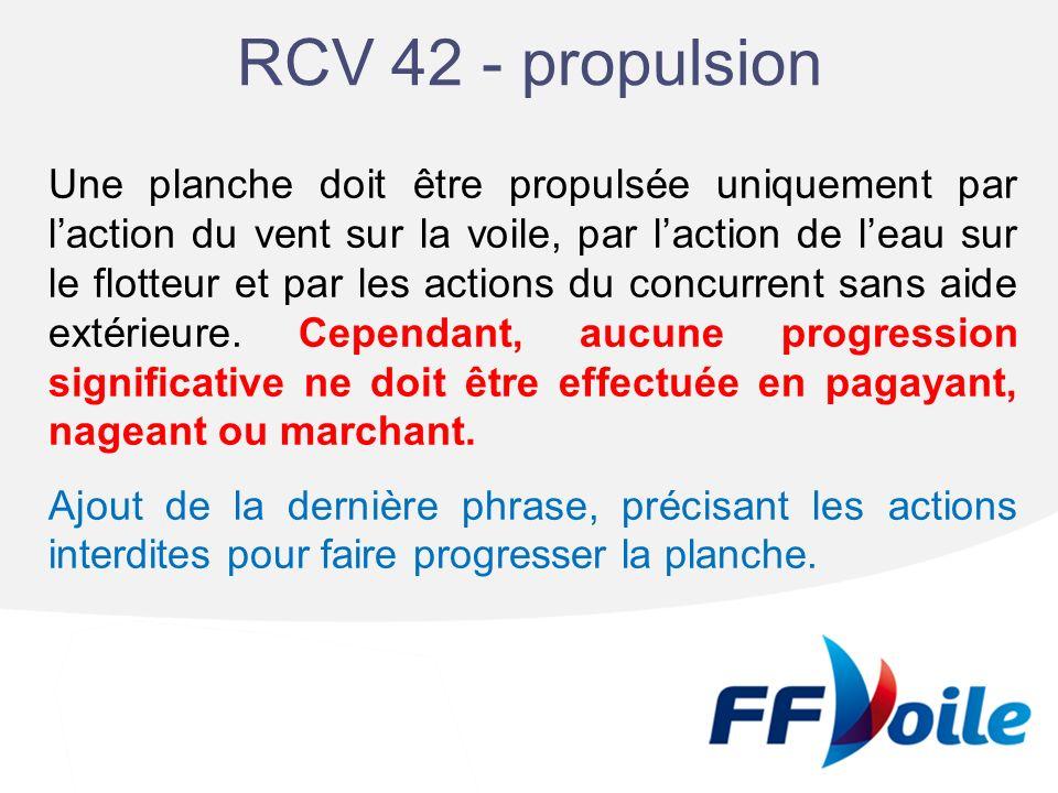 RCV 42 - propulsion
