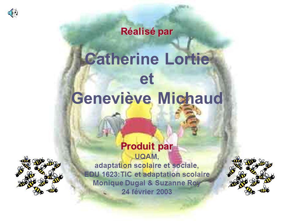 Catherine Lortie et Geneviève Michaud