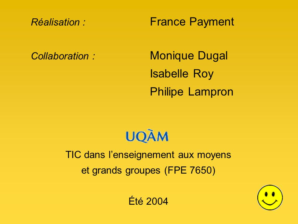 Isabelle Roy Réalisation : France Payment