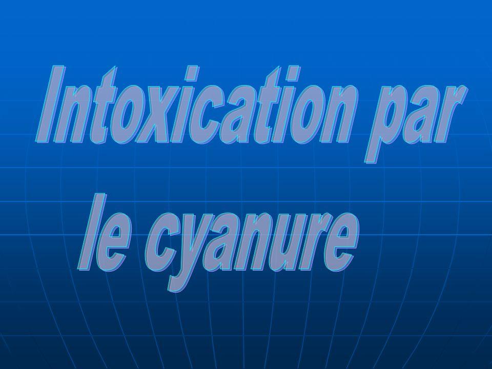 Intoxication par le cyanure