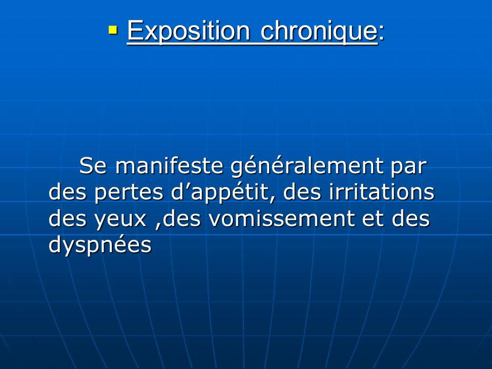 Exposition chronique: