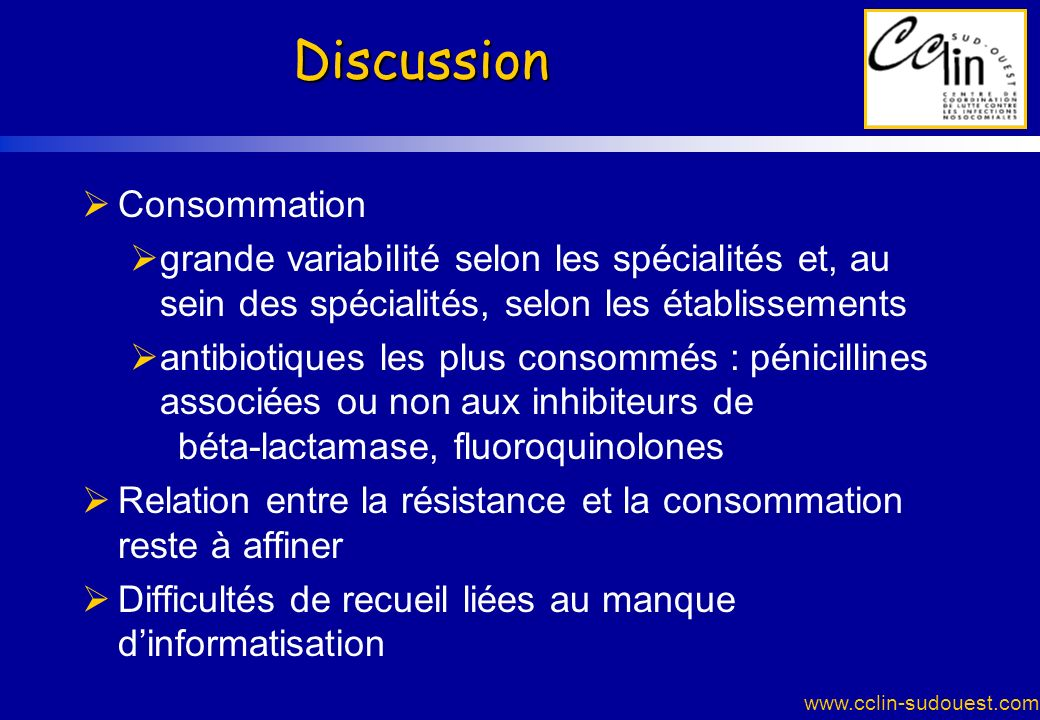 Discussion Consommation