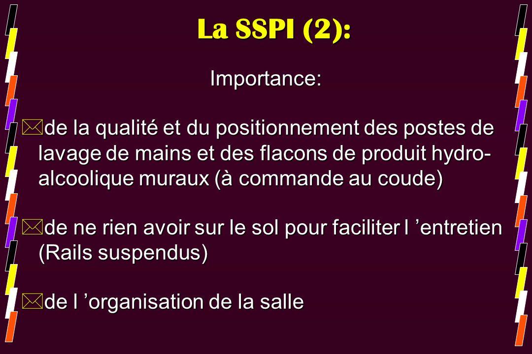 La SSPI (2): Importance: