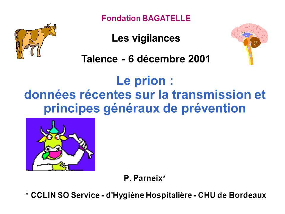 Les vigilances Talence - 6 décembre 2001
