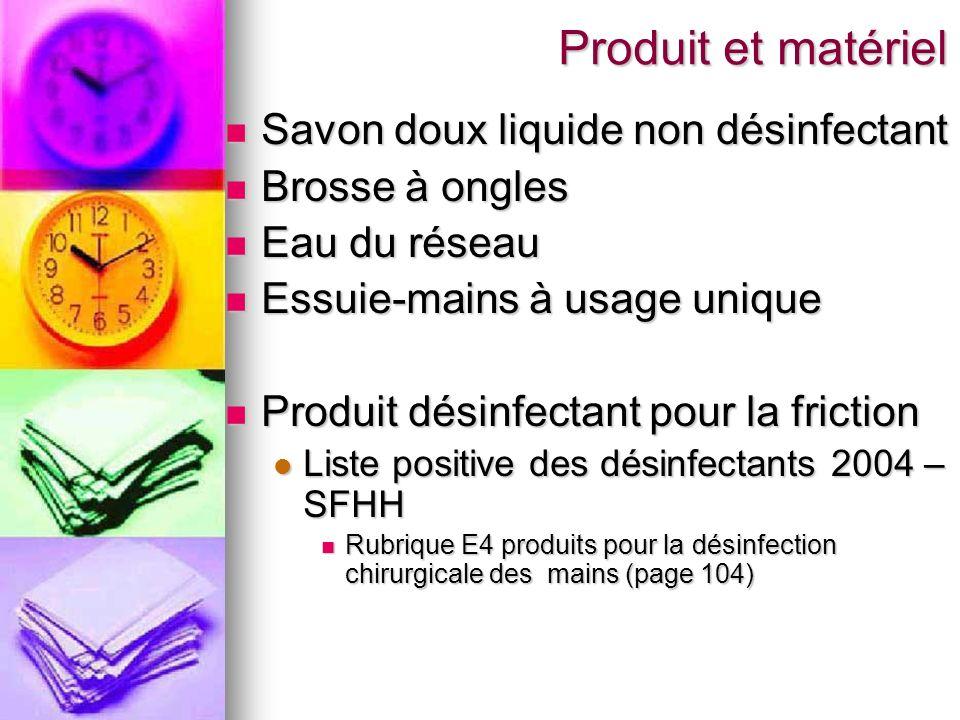 Produit et matériel Savon doux liquide non désinfectant
