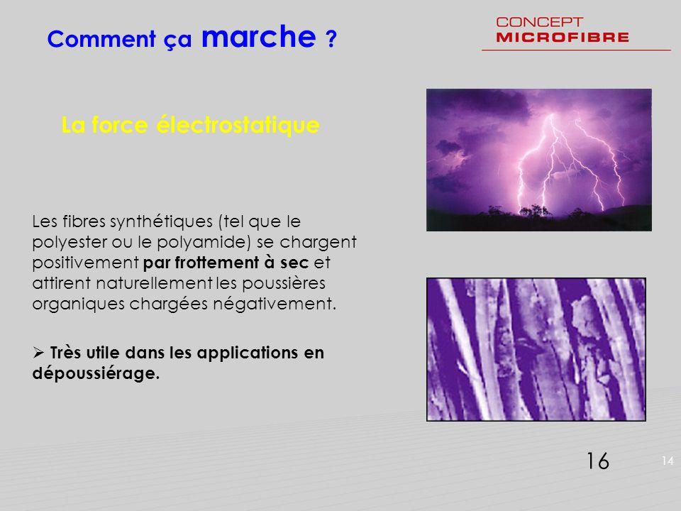 La force électrostatique