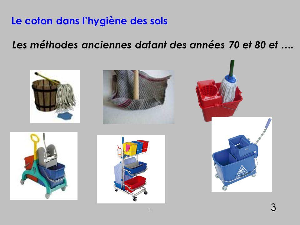 Le coton dans l'hygiène des sols