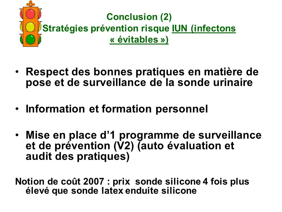 Information et formation personnel
